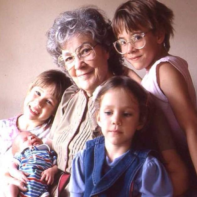 sara and grandma edith